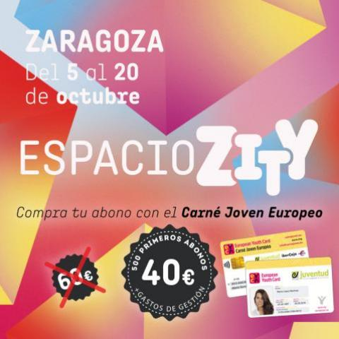 Espacio Zity Fiestas del Pilar 2018 Zaragoza